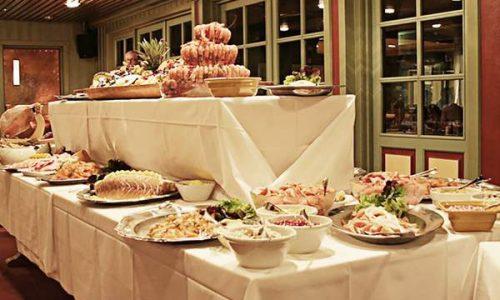 Rauland høgfjellshotell middags buffet